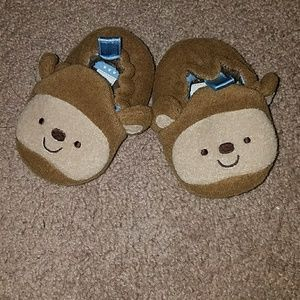 Other - Carter's Monkey Infant Slippers